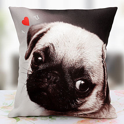 Loving the Pet Personalized Cushion: Send Retirement Gift
