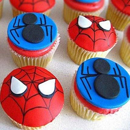 Meet the Spiderman Cupcakes: Cupcakes