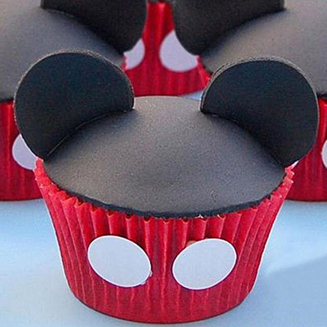 Mickey Mouse Mania Cupcakes: Cupcakes