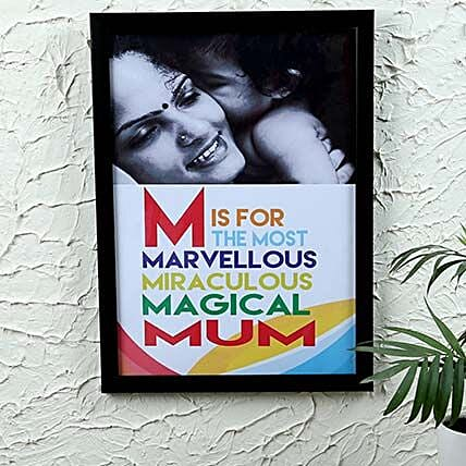 Mom Frame Moment: Personalised Photo Frames