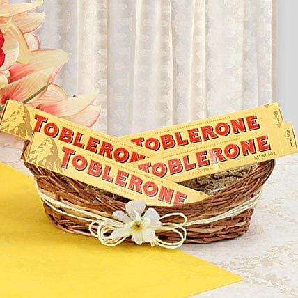 Munch With Toblerone: Romantic Chocolates
