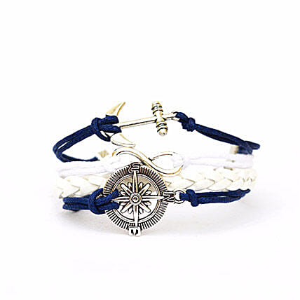 Nautical Blue Bracelet: Friendship Day Bands