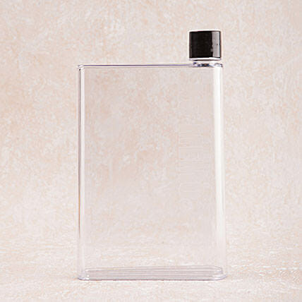 Notebook Style Water Bottle: Unusual Gifts