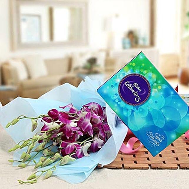 Orchids Enchantment: Cadbury Chocolates