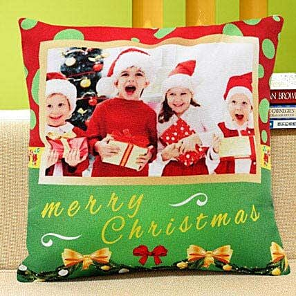 Personalised Christmas Jingle: Personalised Cushions for Kids