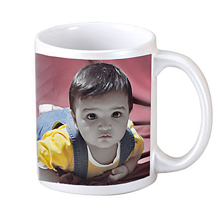 Personalised Jolly Moment Mug: 1st Birthday Gifts