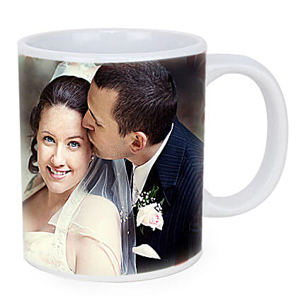 Personalized Couple Photo Mug: Personalised Mugs - Love