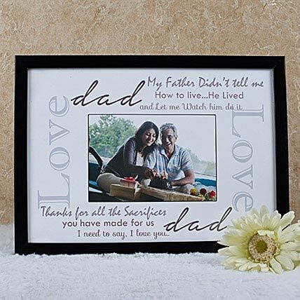 Personalized Frame For Dad: