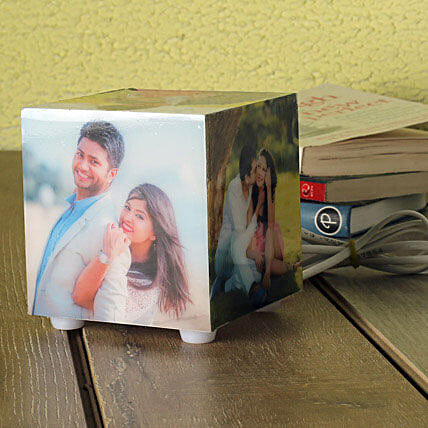 Personalized Memories Lamp: Personalised Gifts Katihar