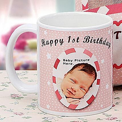 Personalized Memories Mug: Gifts for 1st Birthday