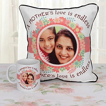 Personalized Tears Of Joy Combo: Mothers Day Personalised Gift Combos