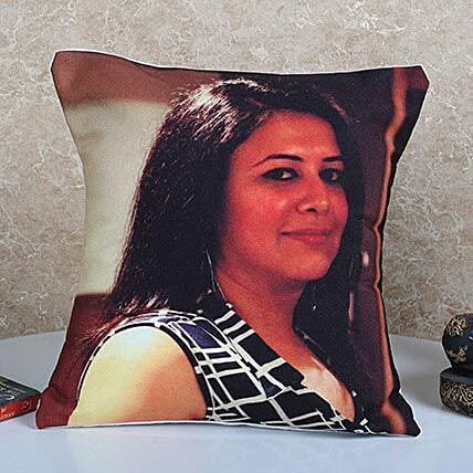 Personalized Vibrant Cushion: Bhai Dooj Gifts for Sister