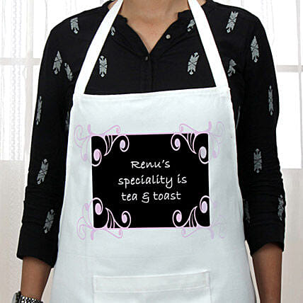 Personalized Why Not Treat Urself: Aprons Gifts