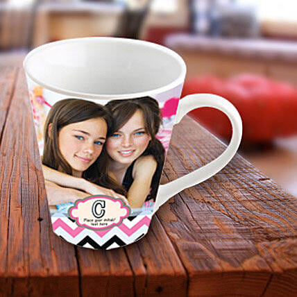 Picture Perfect Personalized Mug: Personalised Mugs - Love