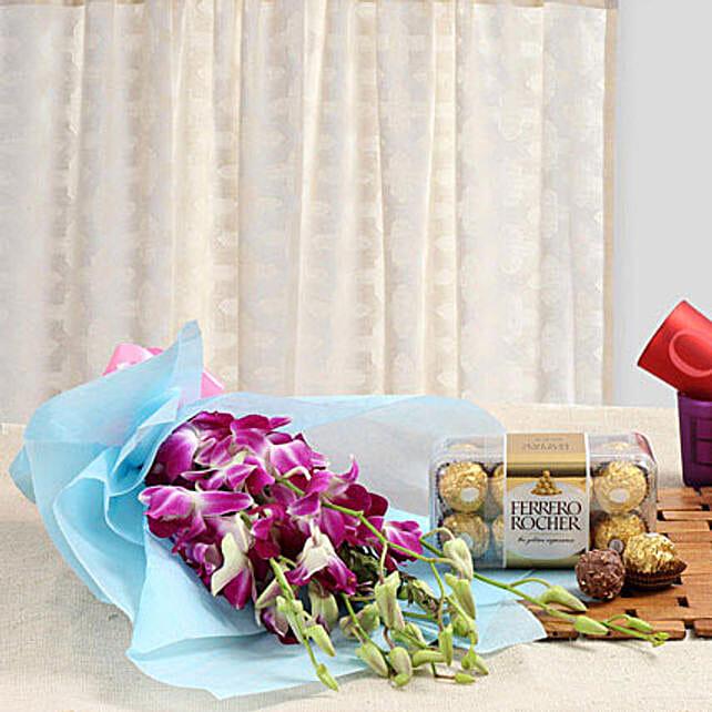 Radiance Of Romance: Send Orchids