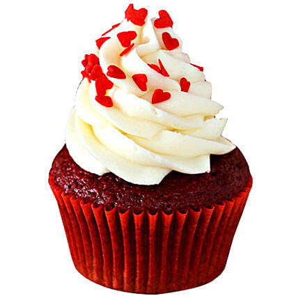 Red Velvet Cupcakes: Send New Year Cakes to Bhopal