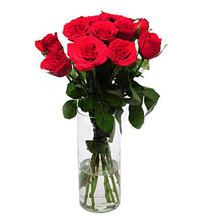 Rose Delight: Red Flowers