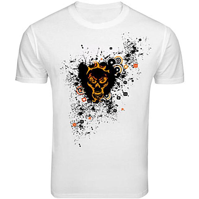 Skull Love T shirt: