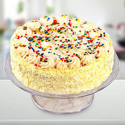 Special Vanilla Cake: Eggless Cakes