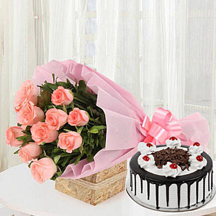 Sweet Treat with Flowers: Flowers n Cakes - Mother's Day