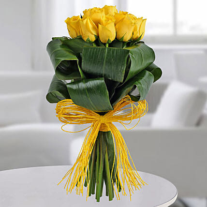 Gleams Of Sunshine Bouquet: Doctors Day Gifts