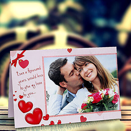 My Love Personalized Card: Valentines Day Greeting Cards
