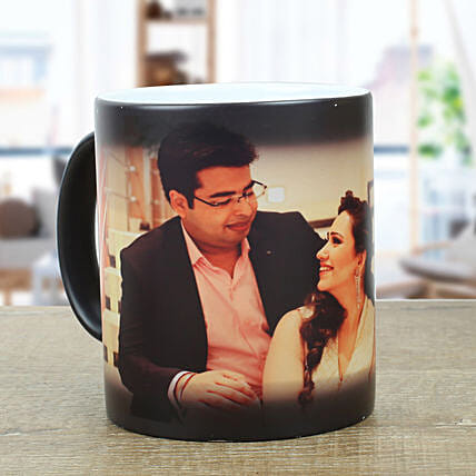 Personalized Magic Mug: Send Personalised Gifts to Rewa