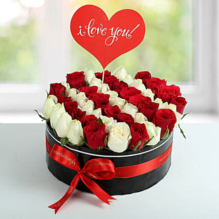 Scintillating Roses Arrangement: Flowers for Valentines Day