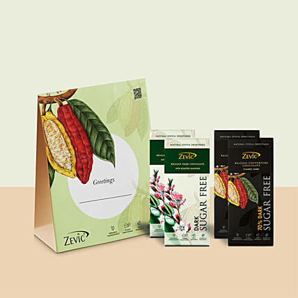Zevic Dark Chocolate Gift Pack: Send Friendship Day Chocolates