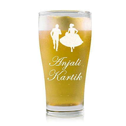 Personalised Beer Glass 2212: Personalised Beer Glasses