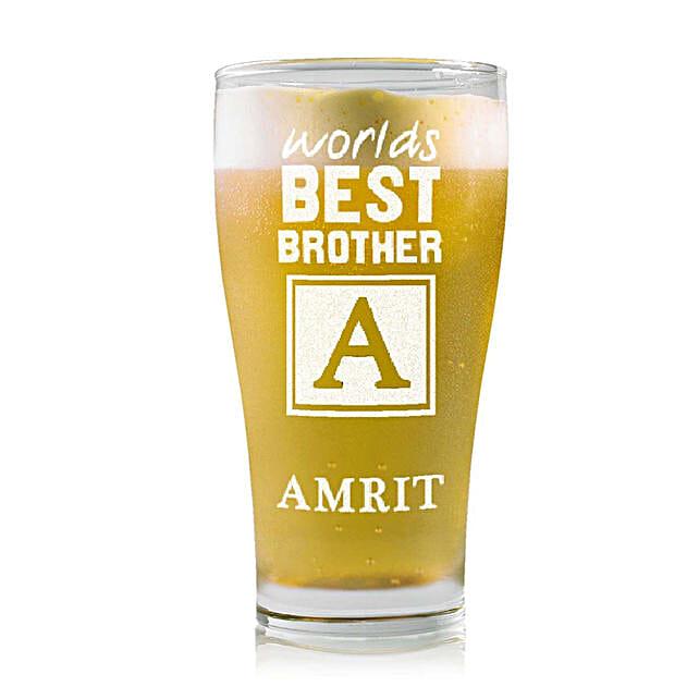 Personalised Beer Glass 2219: