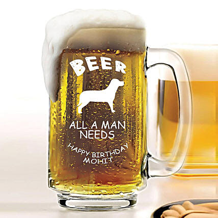 Personalised Beer Mug 1080:
