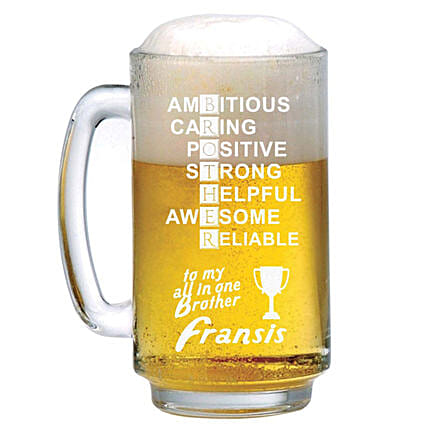 Personalised Beer Mug 1307: