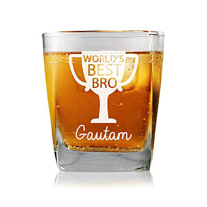 Personalised Set Of 2 Whiskey Glasses 2324: Personalised Whisky Glasses