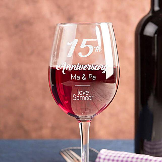 Personalised Set Of 2 Wine Glasses 2902: Personalised Wine glasses