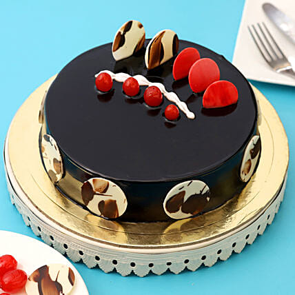 Boss Day Designer Truffle Cake: Gift For Boss