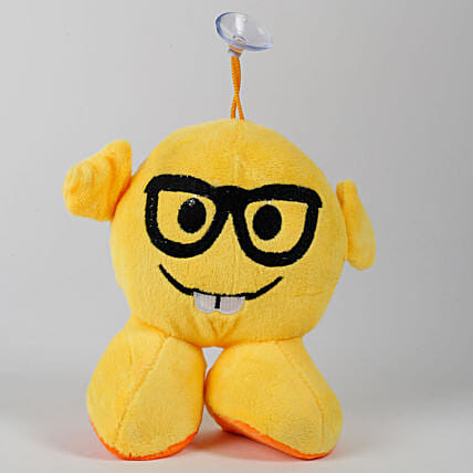 Glass Emoji Soft Toy Hanging: Soft Toys for Birthday