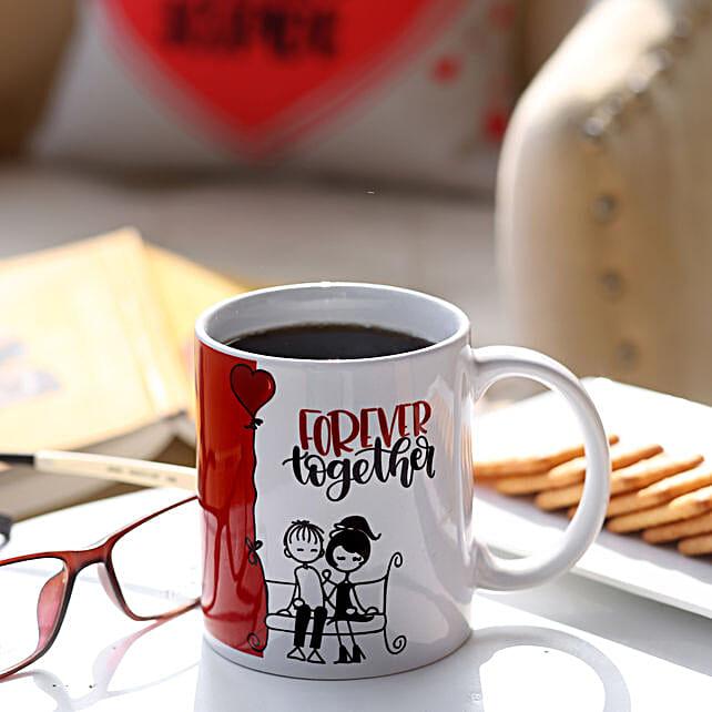 Forever Together Ceramic Mug: Coffee Mugs