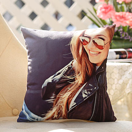 Personalised Cushion For Sweetheart: Thinking Of You