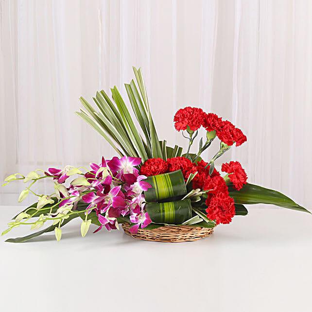 Brightly Blanc: Flower Arrangements
