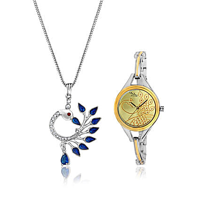 Personalised Watch & Beautiful Pendant: Personalised Accessories