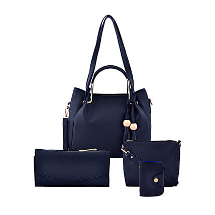 LaFille Blue Bag Set: Handbags and Wallets Gifts