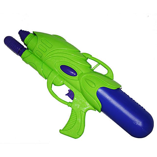 Green Dragonfire Water Gun Pichkari: Send Pichkaris