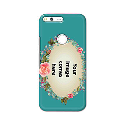 Google Pixel XL Customised Floral Mobile Case: Personalised Google Mobile Covers