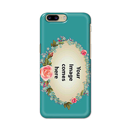 One Plus 5 Customised Floral Mobile Case: Personalised One Plus Mobile Covers