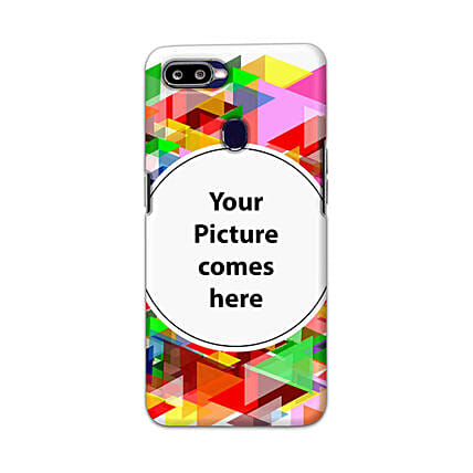 Oppo F9 Pro Customised Vibrant Mobile Case: Personalised Oppo Mobile Covers