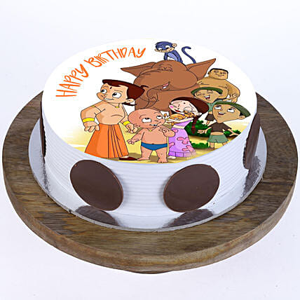 Chhota Bheem Special Photo Cake: