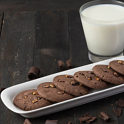 Choco Chip Cookies Box: Gourmet Gifts India