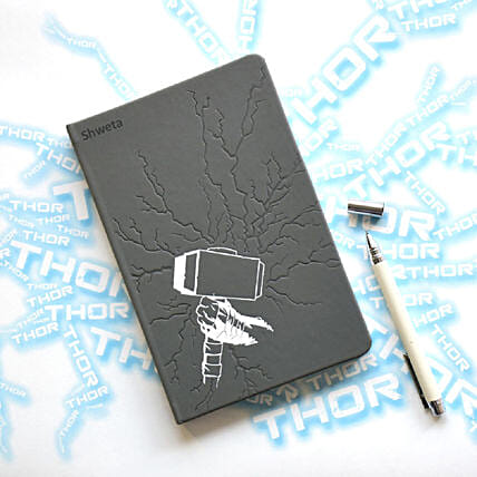 Personalised Thor's Hammer Notebook: Best Gifts to India