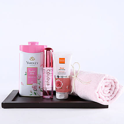 Pink Essentials For Girl Hamper: Premium & Exclusive Gift Collection